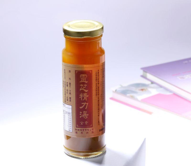 【士官長料理】靈芝精力湯36瓶裝