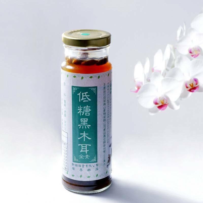 【士官長料理】低糖黑木耳 六瓶裝